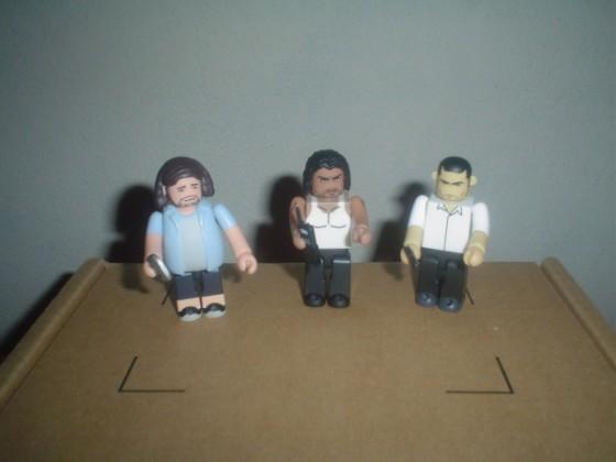 Hurley, Sayid y Jack - Kubrick - Medicom