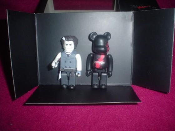 Sweeney Todd versión Kubrick + Bearbrick