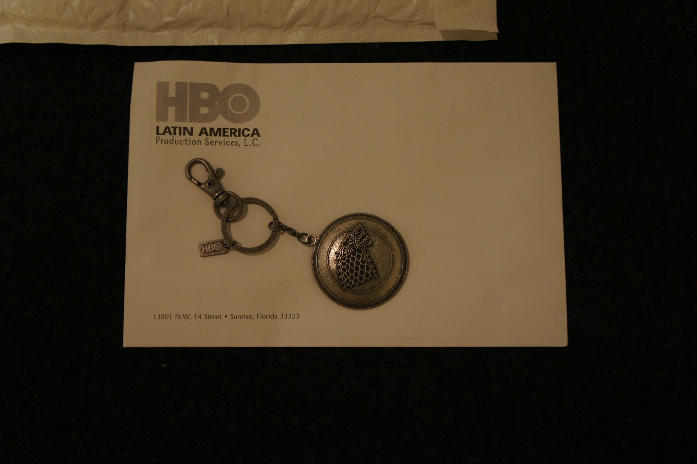Press Kit HBO LAT Game of Thrones: Llavero