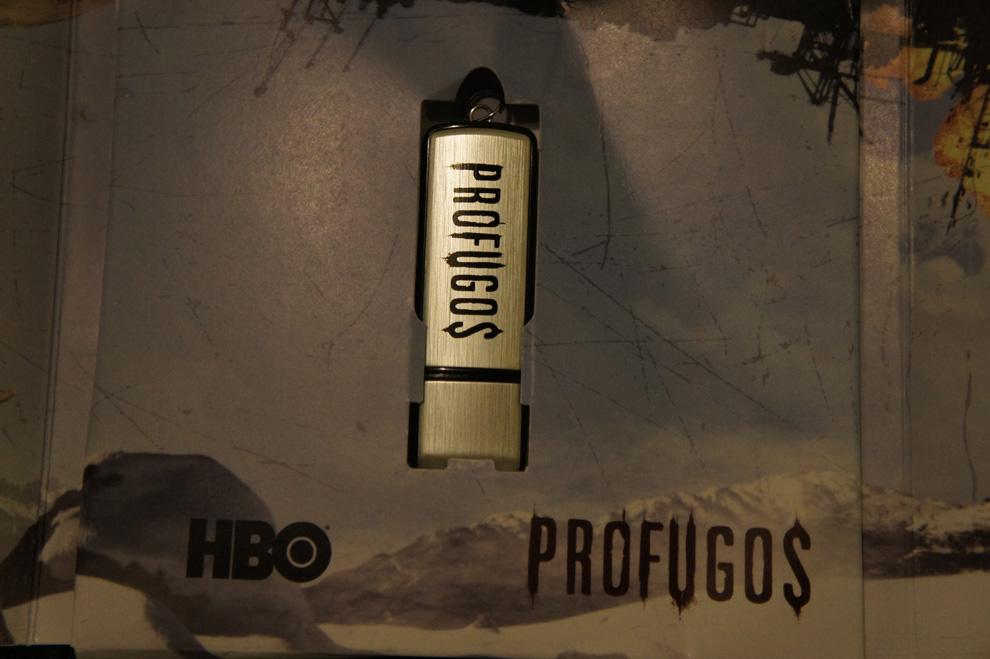 USB promocional serie Prófugos