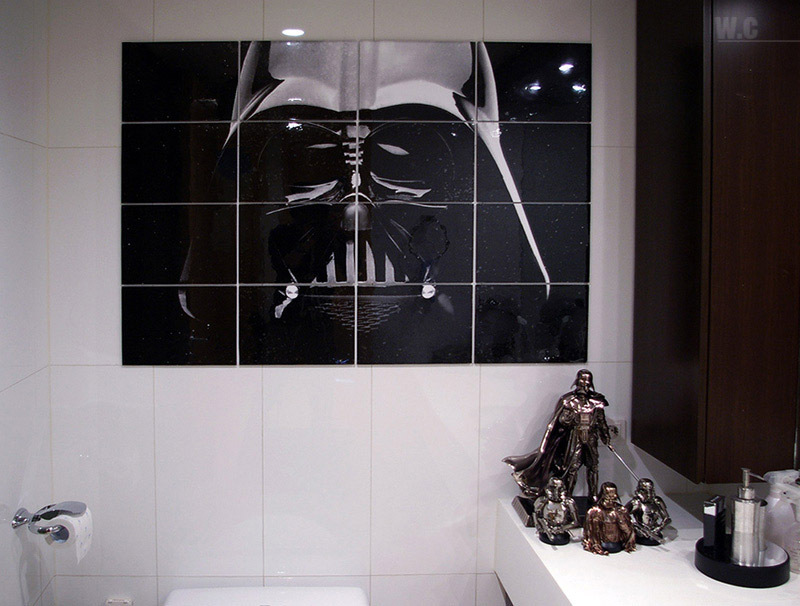star wars baño