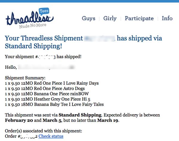 threadless correo