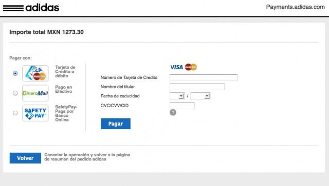 residuo Desear Triturado  Experiencia al comprar en la tienda en línea de Adidas México ...