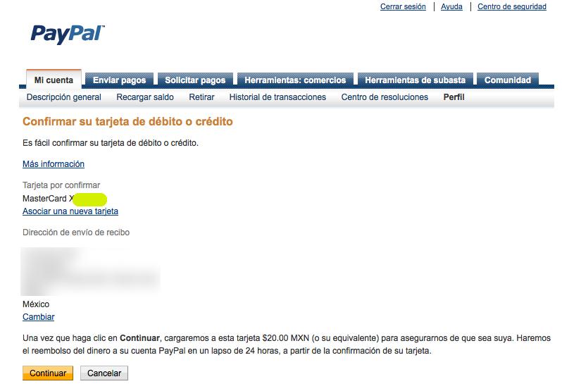 TARJETA DEBITO PAYPAL AMAZON