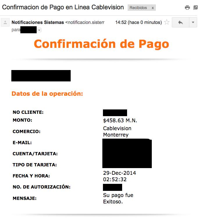 confirmacion-pago-en-linea-cablevision-monterrey