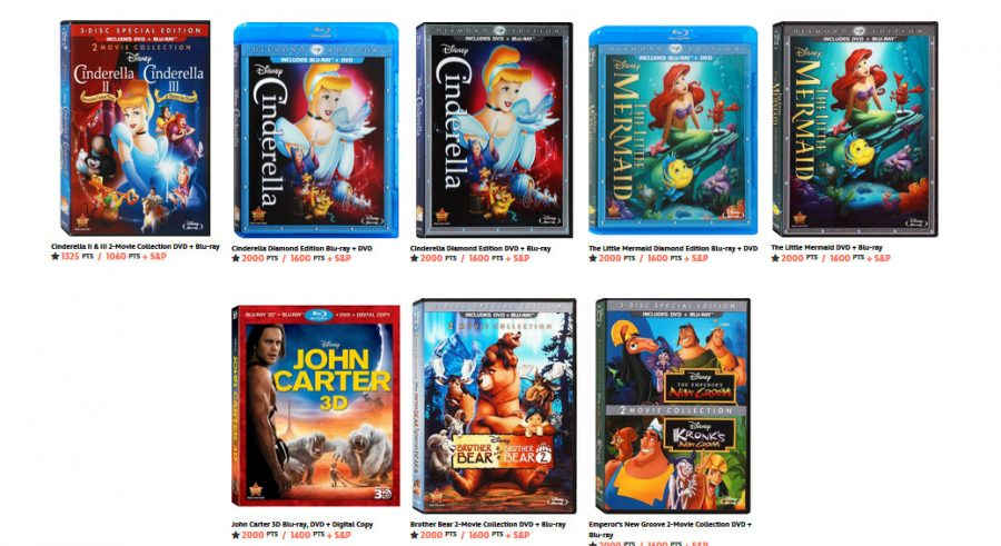 disney movie rewards estuche dvd bluray