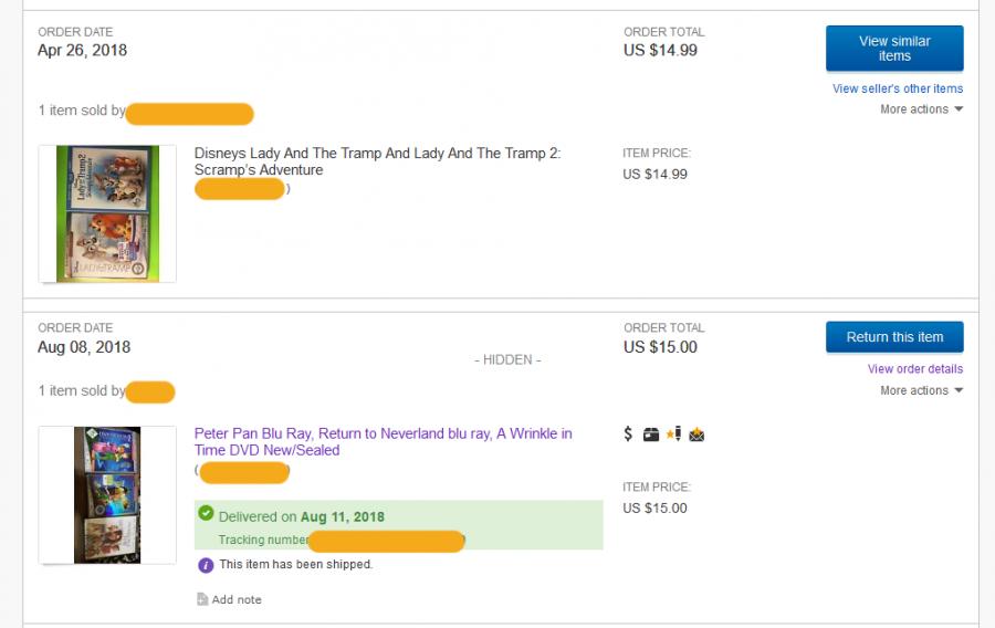 ebay secuelas signature
