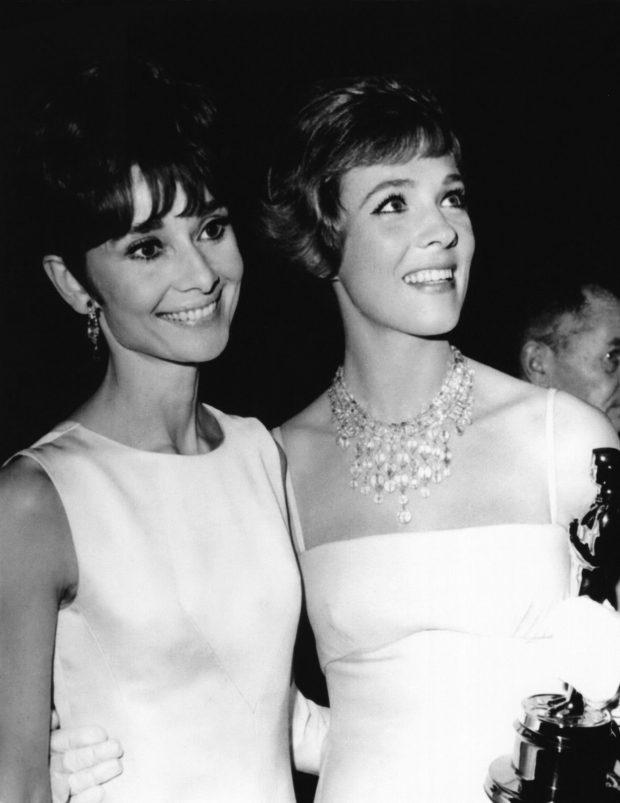 Julie Andrews y Audrey Hepburn