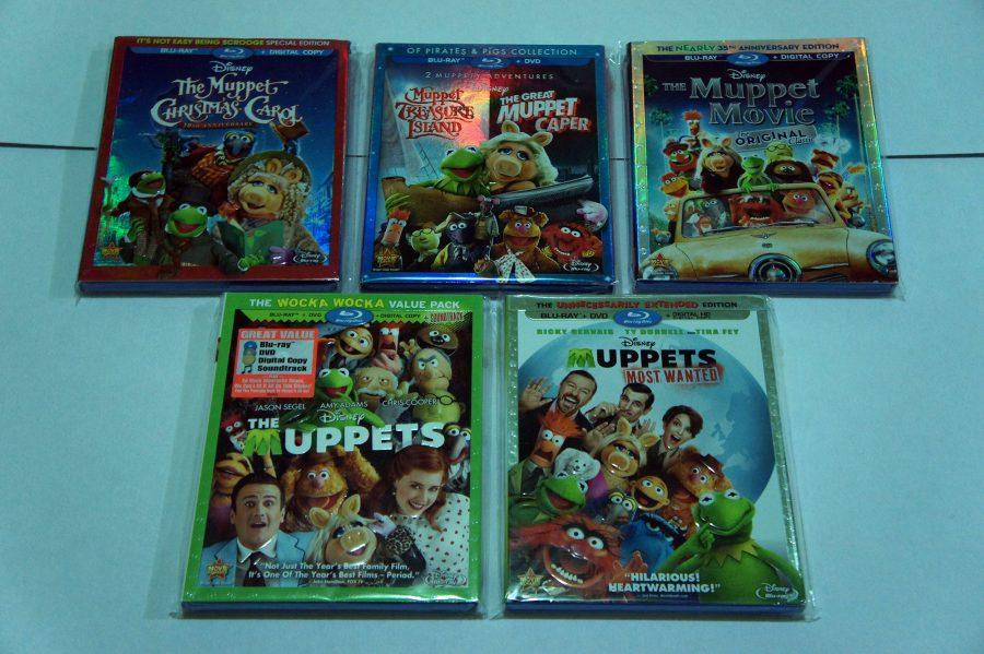 coleccion muppets disney bluray