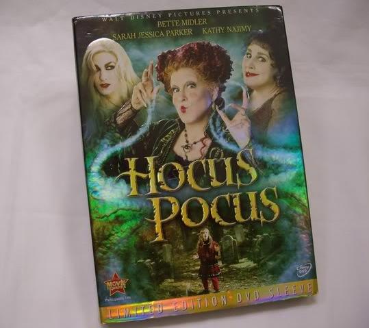 hocus pocus dvd sleeve