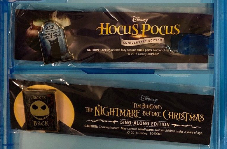 hocus pocus nightmare before exclusiva walmart pin
