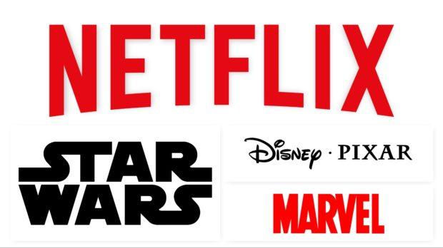 disney pixar marvel netflix catalogo star wars