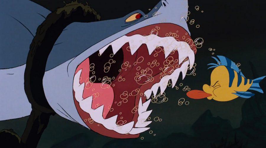 el archienemigo de flounder en la sirenita