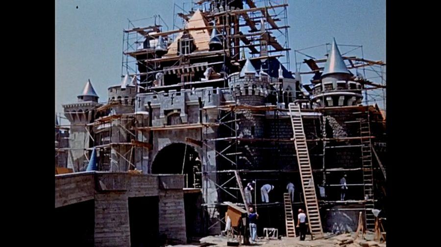 construccion castillo bella durmiente 1