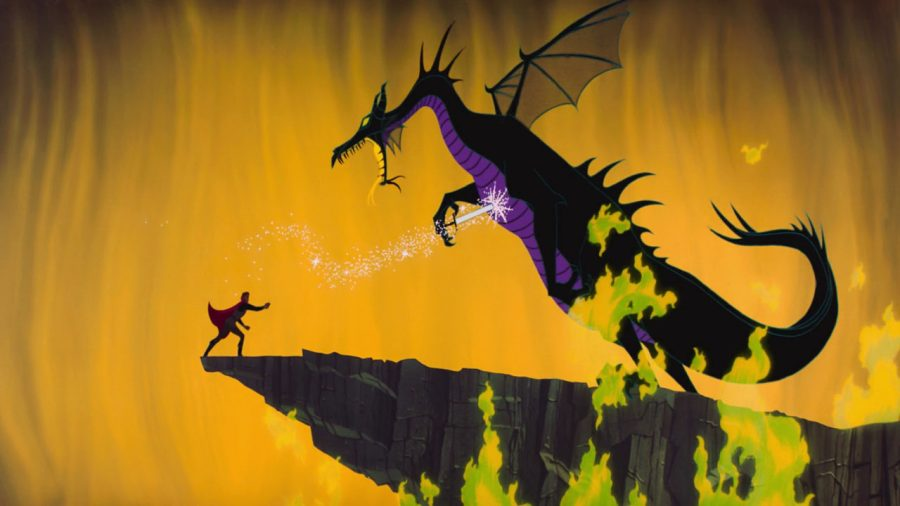 dragon bella durmiente 1