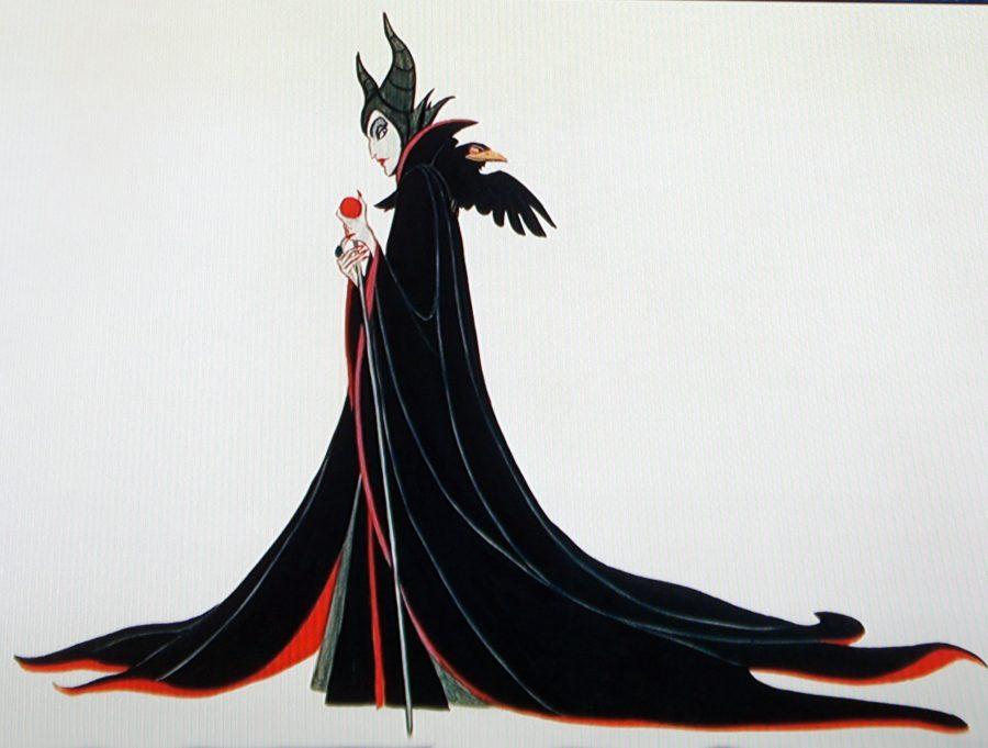 malefica vestuario rojo negro 2