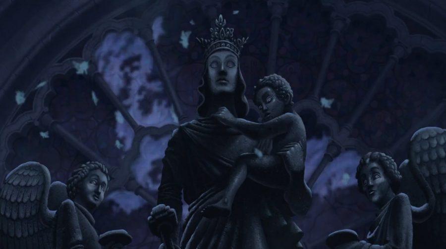 estatua maria jorobado notre dame 3